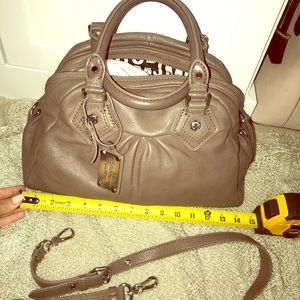 New Marc Jacobs leather Hobo bag, Taupe